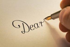 love letter writing near me