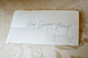 letter to bride from groom